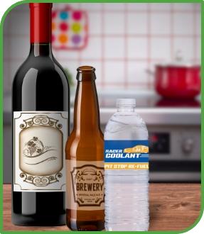Bottles Labels Category